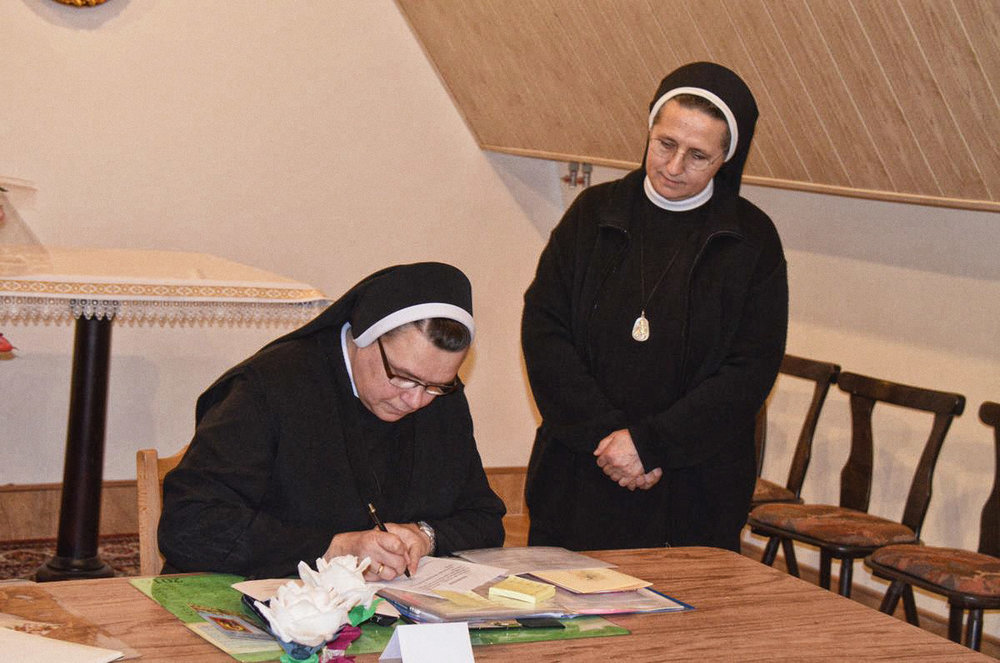 Siostra Wikaria M. Benedykta Konobrodzka II Radna