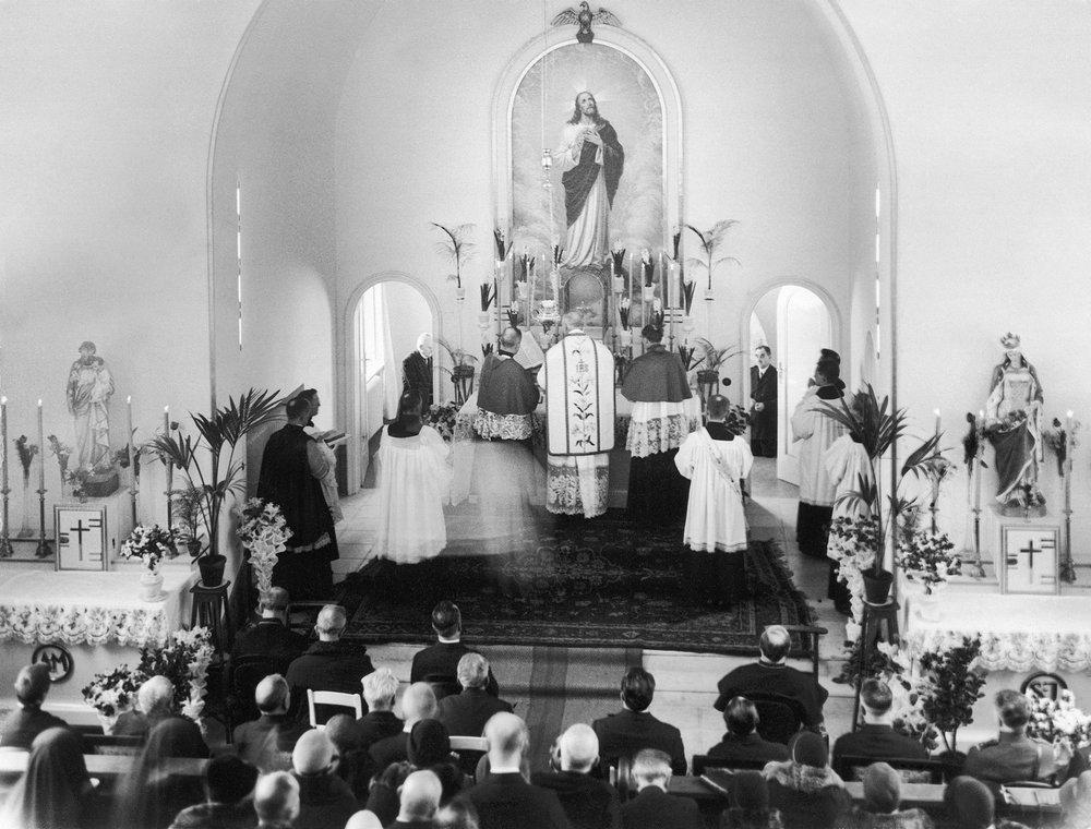 Poświęcenie Szpitala 30.01.1931r.Eucharystia