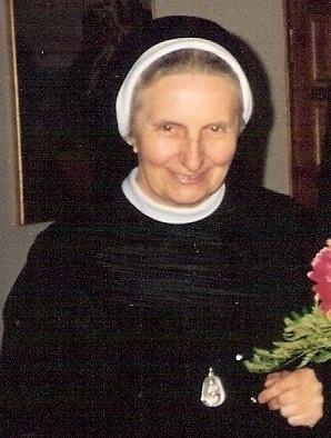 s. Elżbieta Grzegorzewicz, przełożona prowincji warszawskiej w latach 1982-1994