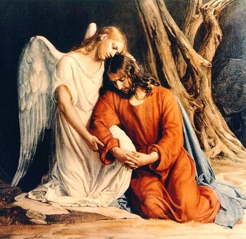 Chrystus w Ogrójcu,  Carl Broch