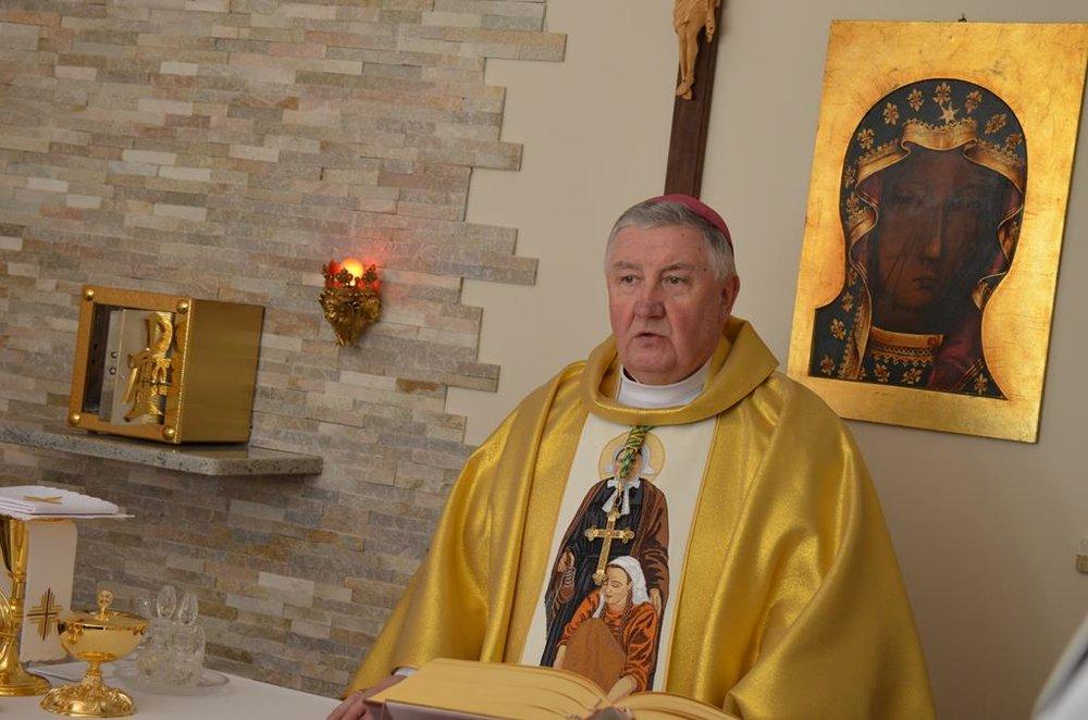 Ksiądz Biskup Romuald Kamiński