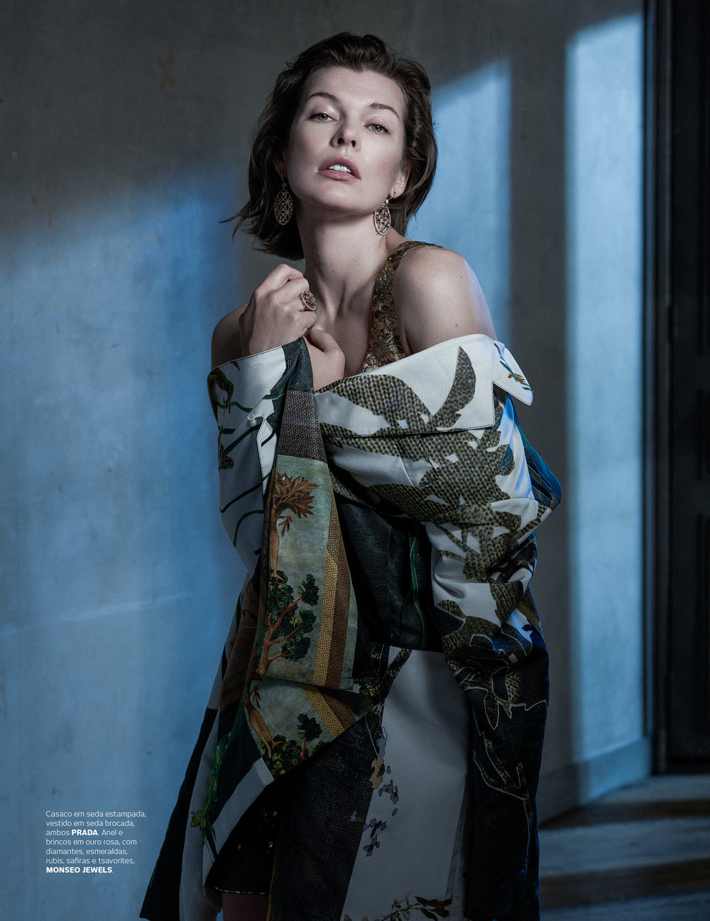 Portuguese Story collection featured on Vogue Portugal with Milla Jovovich