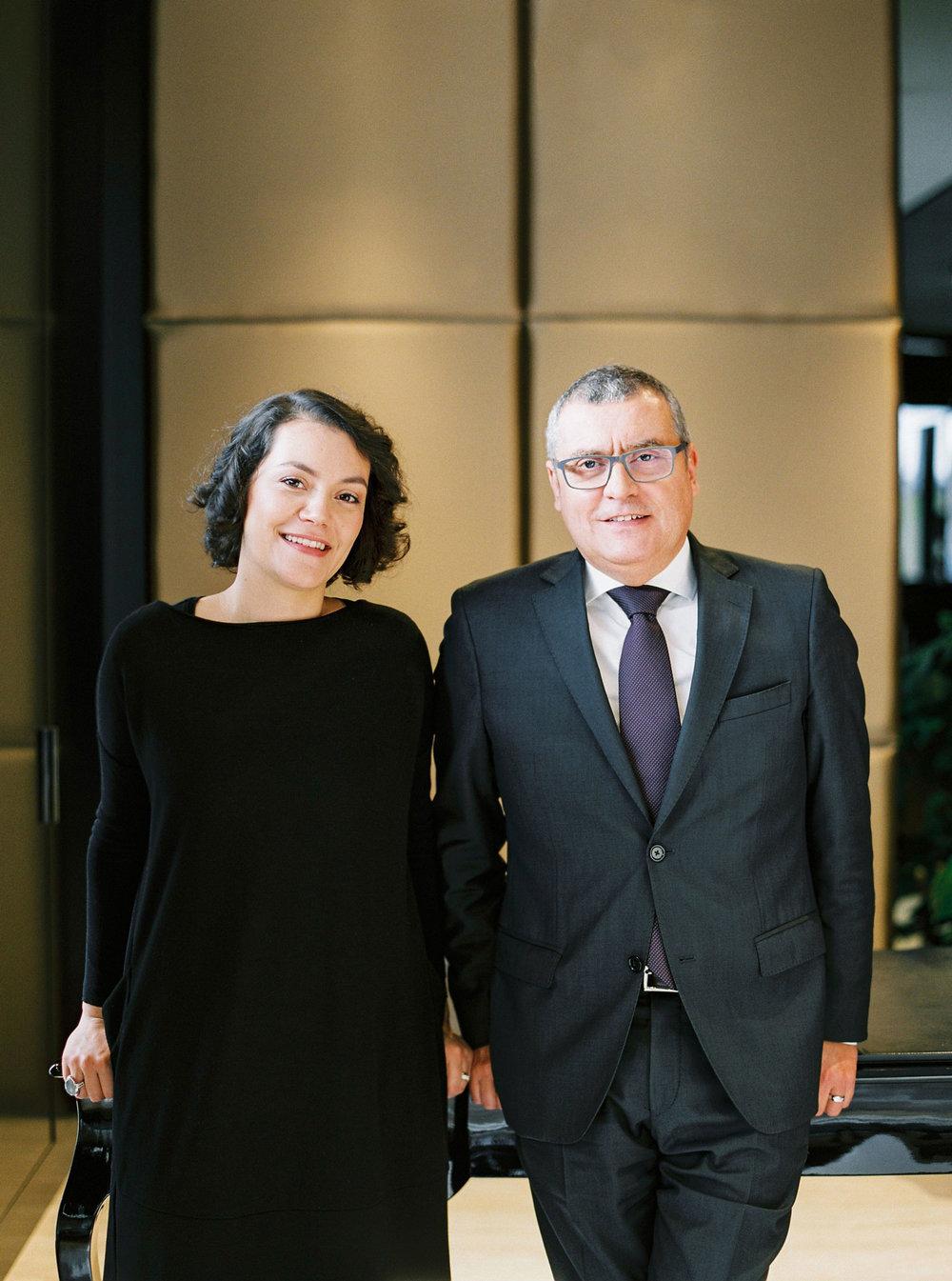 Diana Vieira, Creative Director and José Manuel Silva, Monseo CEO Portrait by André Teixeira