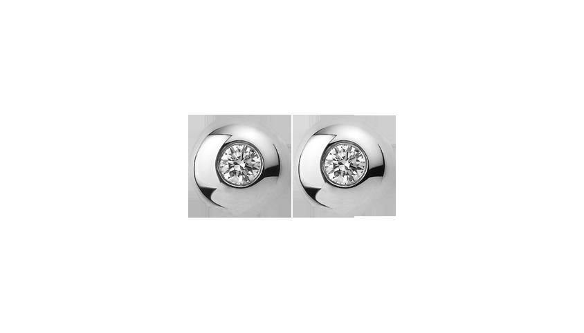 BI2112- Brincos Cosmopolitan Diamantes  Brincos em ouro branco 19.2 kt e diamantes  PVP 1860 €