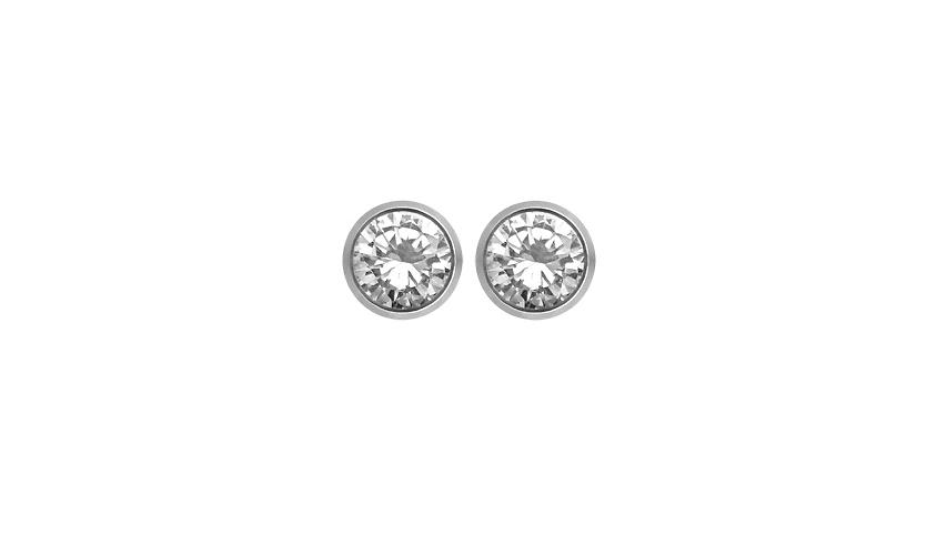 BI2315 - Brincos Moments   Brincos em ouro branco 19.2 kt e diamantes.  PVP desde 520 € a 1660 € (dependendo do tamanho dos diamantes)