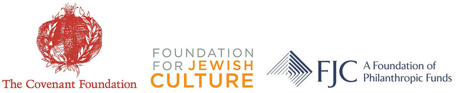 This project was created with generous funding by  The Covenant Foundation , with fiscal sponsorship by  The Foundation for Jewish Culture  and  FJC .
