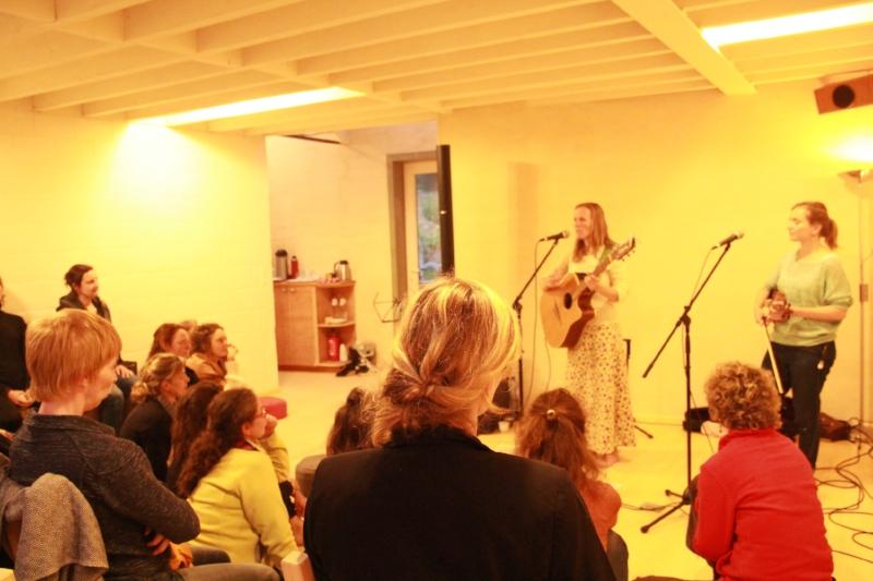 Muzikale afsluiter: Amalia Vermandere en Jozefien Desaever