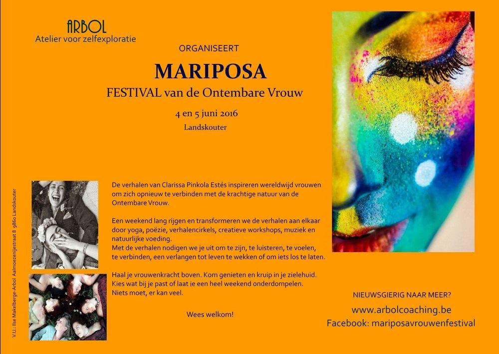 Affiche Mariposa 2016