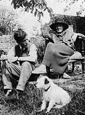 Leonard and Virginia Woolf,1926