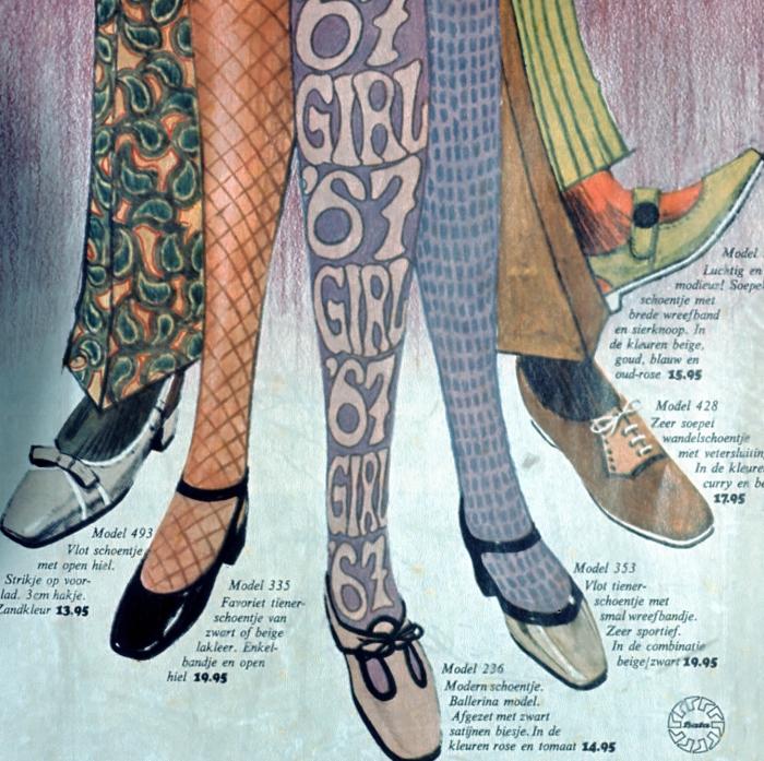 Dutch ad for Bata shoes, 1967