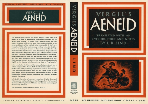 "Virgil's 'Aeneid' - ""the greatest Roman epic"""