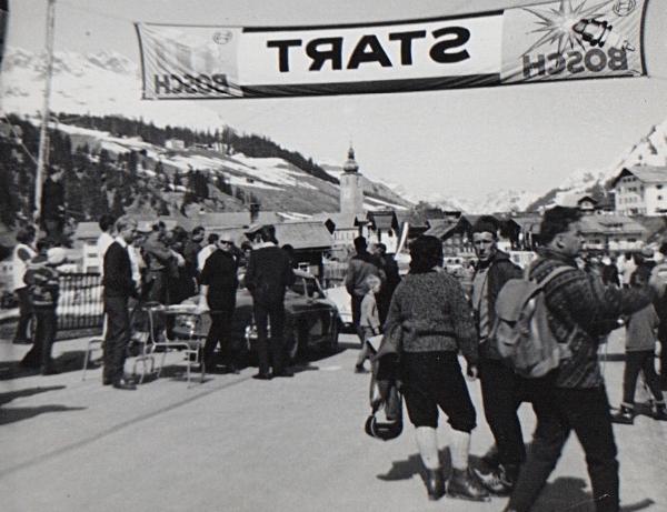 The annual Porsche race at Lech ,1964 not 1967