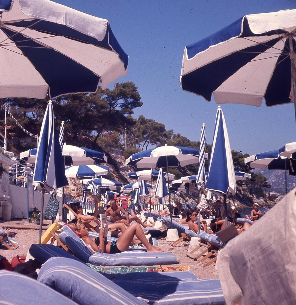 Paloma Plage, St Jean Cap Ferrat - the paying side