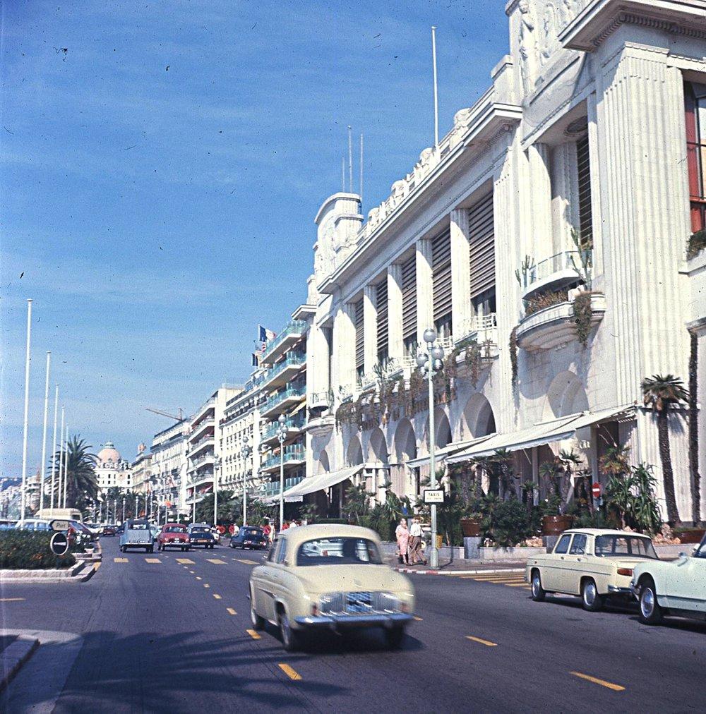 Promenade des Anglais, Nice, 1967