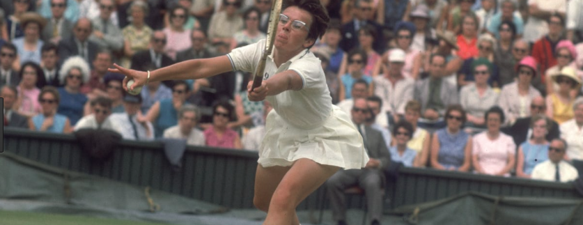 Billy Jean defeated Britain's Ann Jones - the second of her six Wimbledon victories