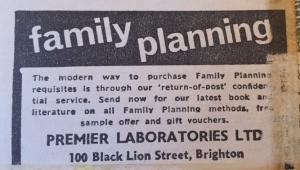 Newspaper ad, 1967