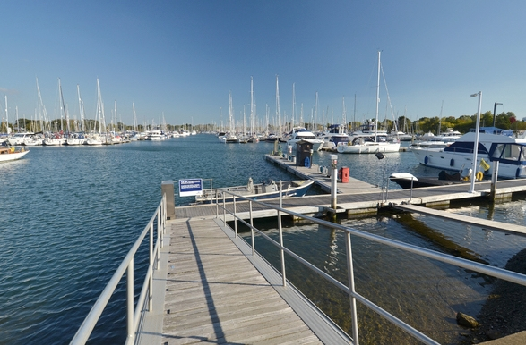 Chichester Marina opened in 1966 with eight pontoons