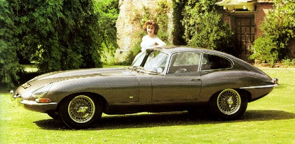 The original 9600 E-Type Jag, launched in 1961