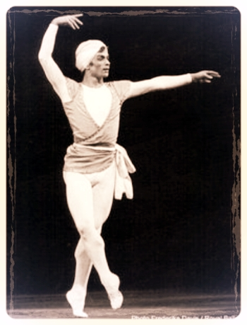 "Nureyev in La Bayadère.- ""the best male dancer I've ever seen"""