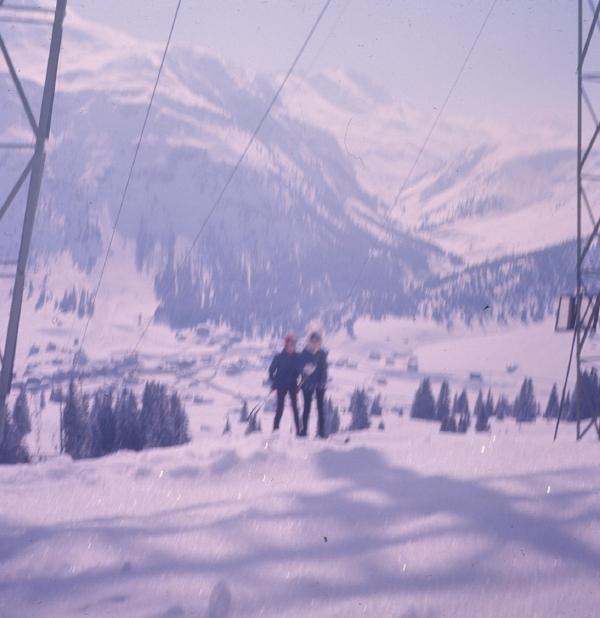 """""""It snowed all day. I skied ok."""""""