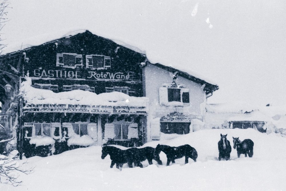 Gasthof Rote Wand  - the first fondue in the Arlberg was served here in 1964.