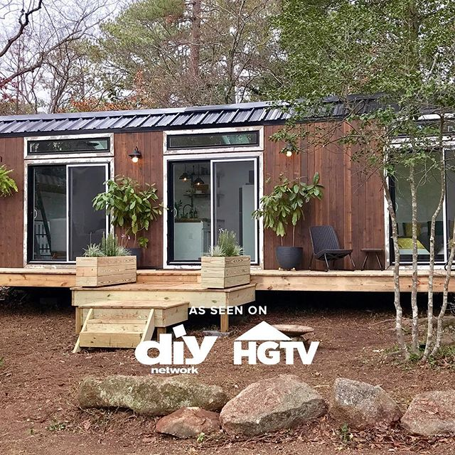 Tonight is the night friends. You can tune into @diynetwork at 9:00pm EST to see us provide a great home for this amazing couple. Please let us know if you're planning on watching.  Also the next @tinyhousegiveaway goes live at 5:00 pm today. This is your chance to enter to win your dream tiny house.