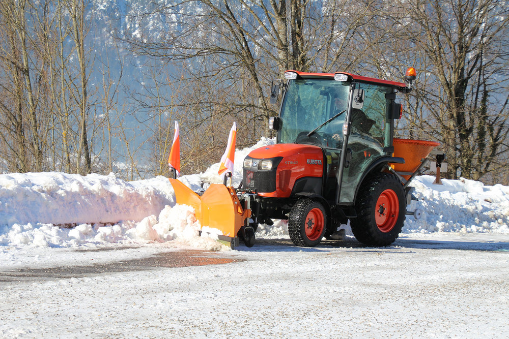 Kubota - STW40 Winterdienst