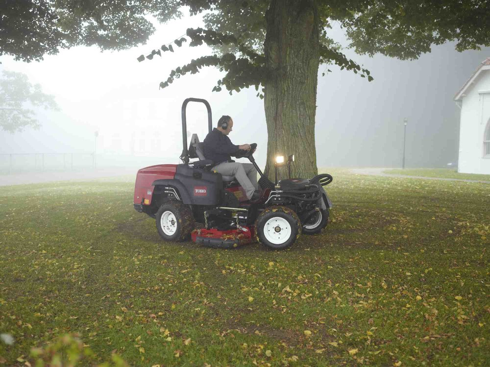 Toro Groundsmaster 360 Quad-Steer