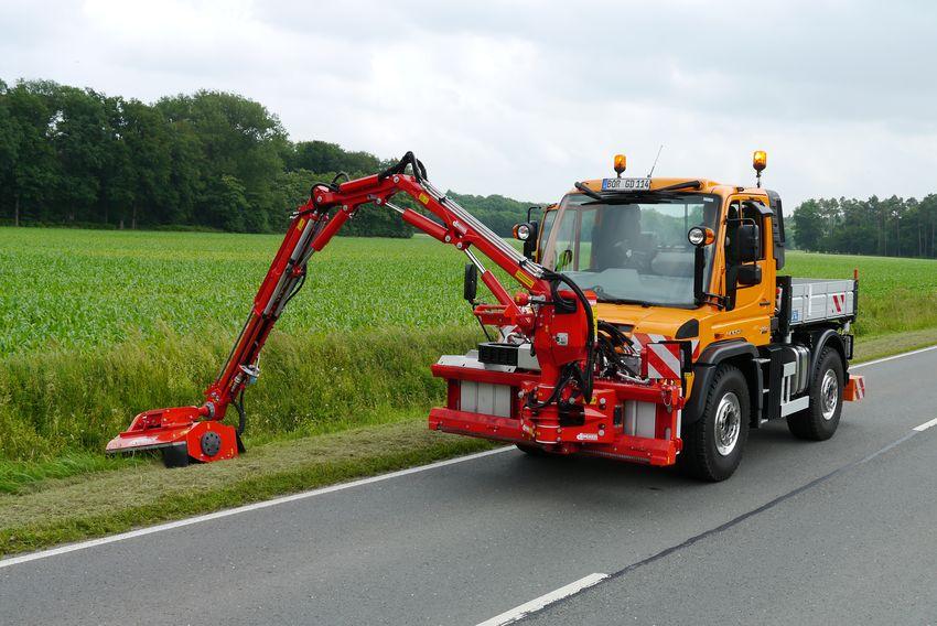 Dücker - Ausleger DUA 700/ 800