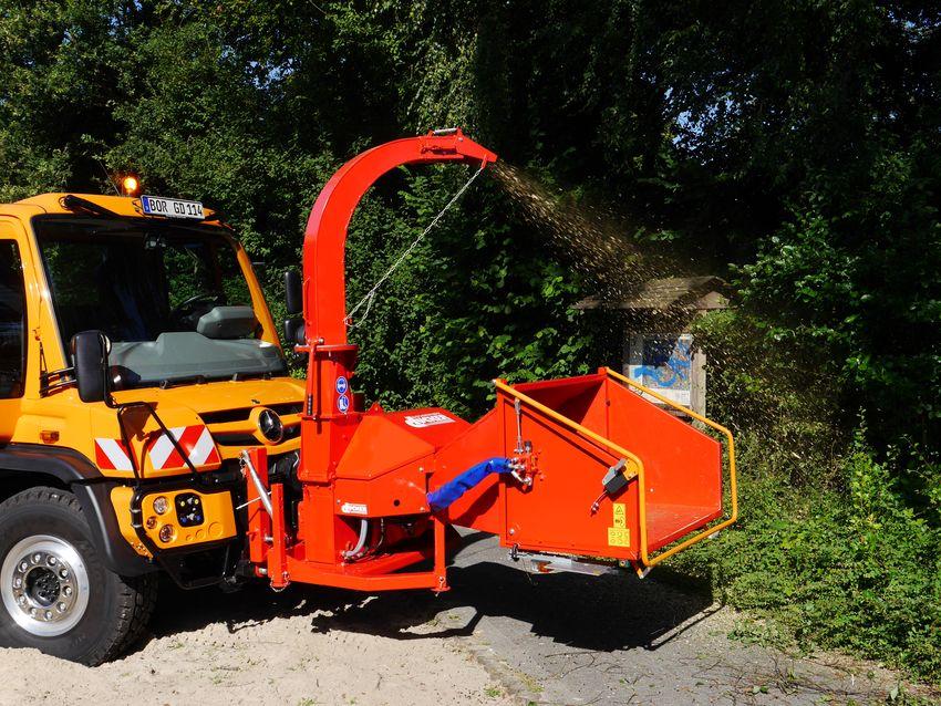 Dücker - Holzhacker HF 200
