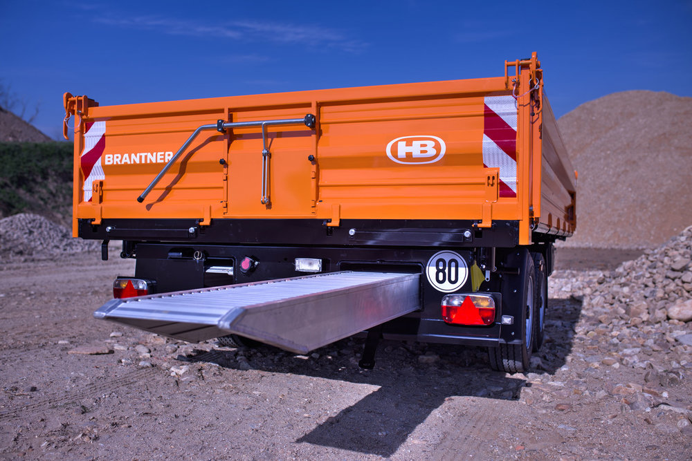 HB-Brantner - TA11045 Tieflader Tandem