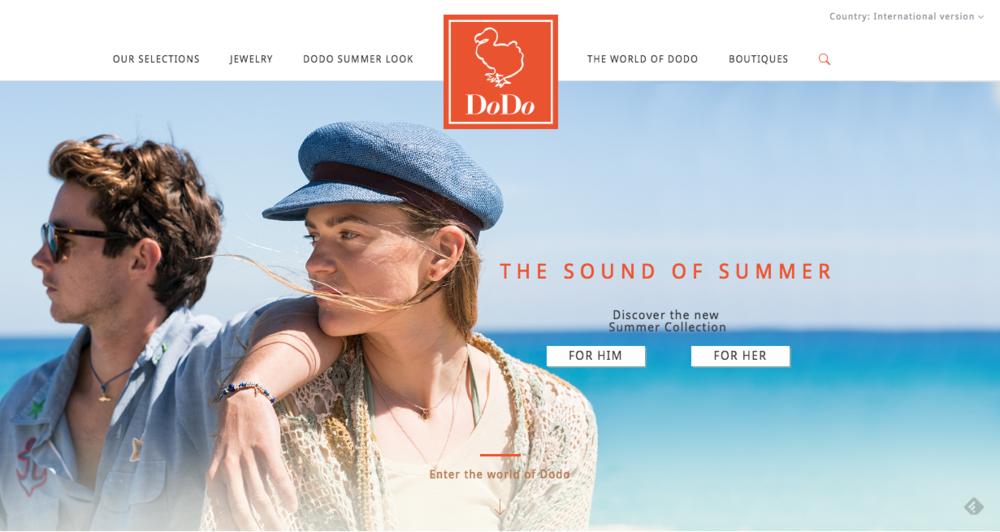 Dodo Jewels Website - 2