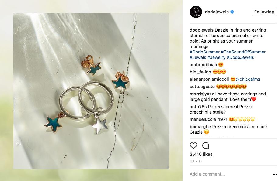 Dodo Jewels Instagram Copy