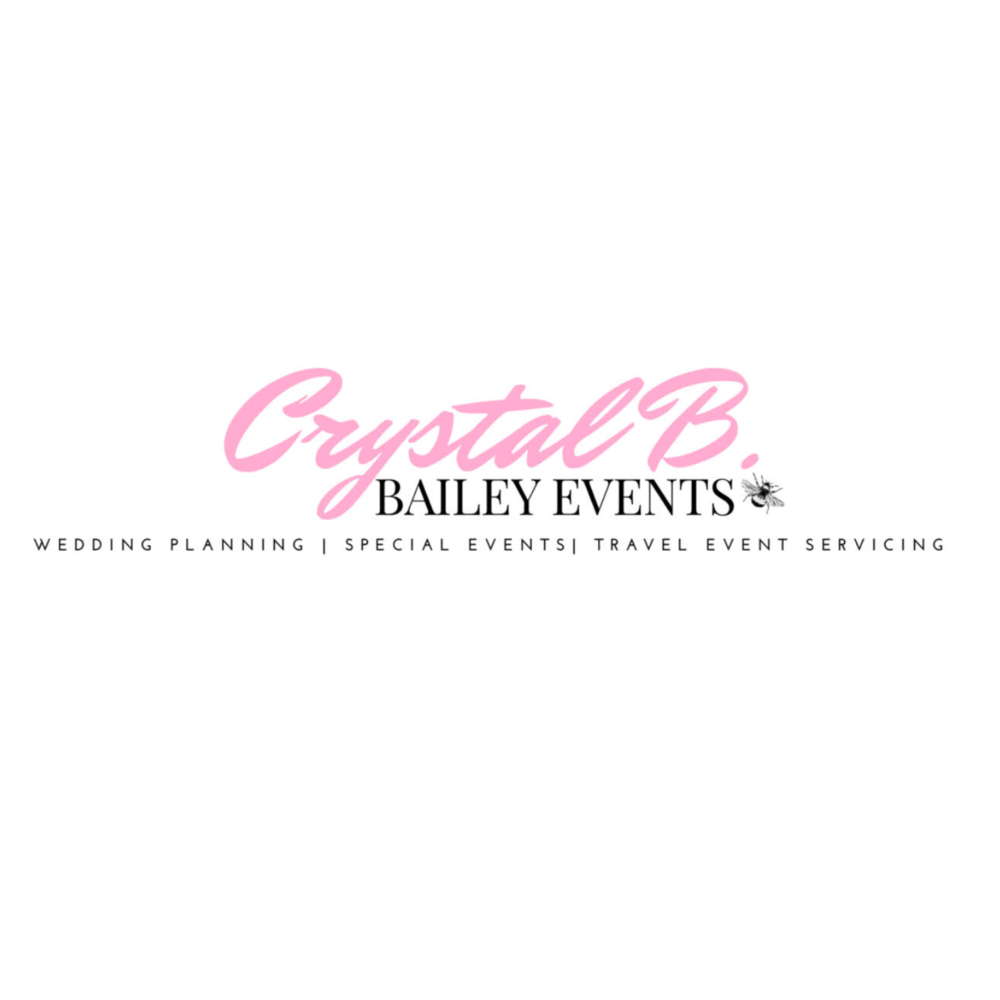 Bailey Events by Crystal B. :  Bailey Events is a full service wedding and special event planning & styling company. Our goal is to have every clients dream event come true as we still hold true to our essence of remaining simplistic, creative, bold, and timeless.  Servicing : (NJ, DE, NY, DC, ATL LA, NC)  IG:  @crystal_bailey   Visit:  www.baileyevents.org
