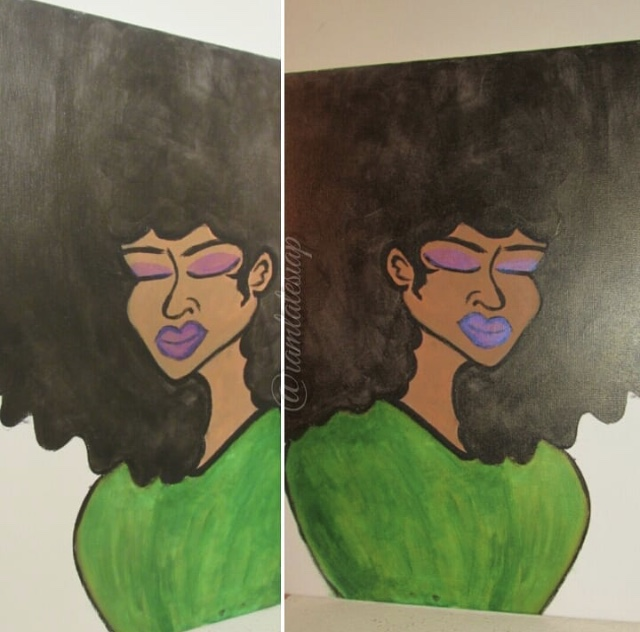 Artist La-Tesia Poole  frm Chattanooga, TN  My mission is to be the happy medium through life, art, words, and poetry.  Visit:  instagram.com/artbylatesia_danielle