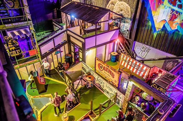Saturday we are ready for you! ☄️🏌️ We are fully booked for the day, but come down for a drink and speak to our reception staff as we can certainly fit a few walks in on! 🏌️ 💥Book for the future at www.ghettogolf.co.uk 💥