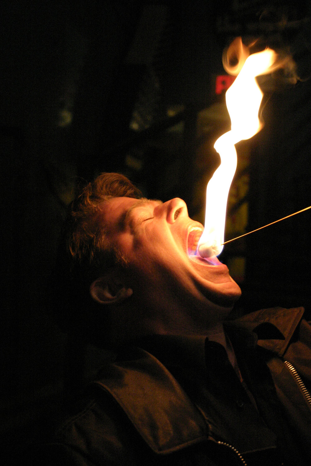 4- Fire eating at Coney Island Sideshow School.jpg