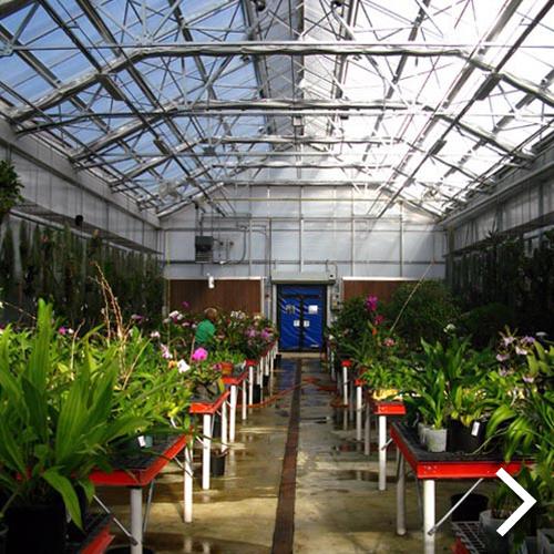 Smithsonian Gardens Greenhouse Facility