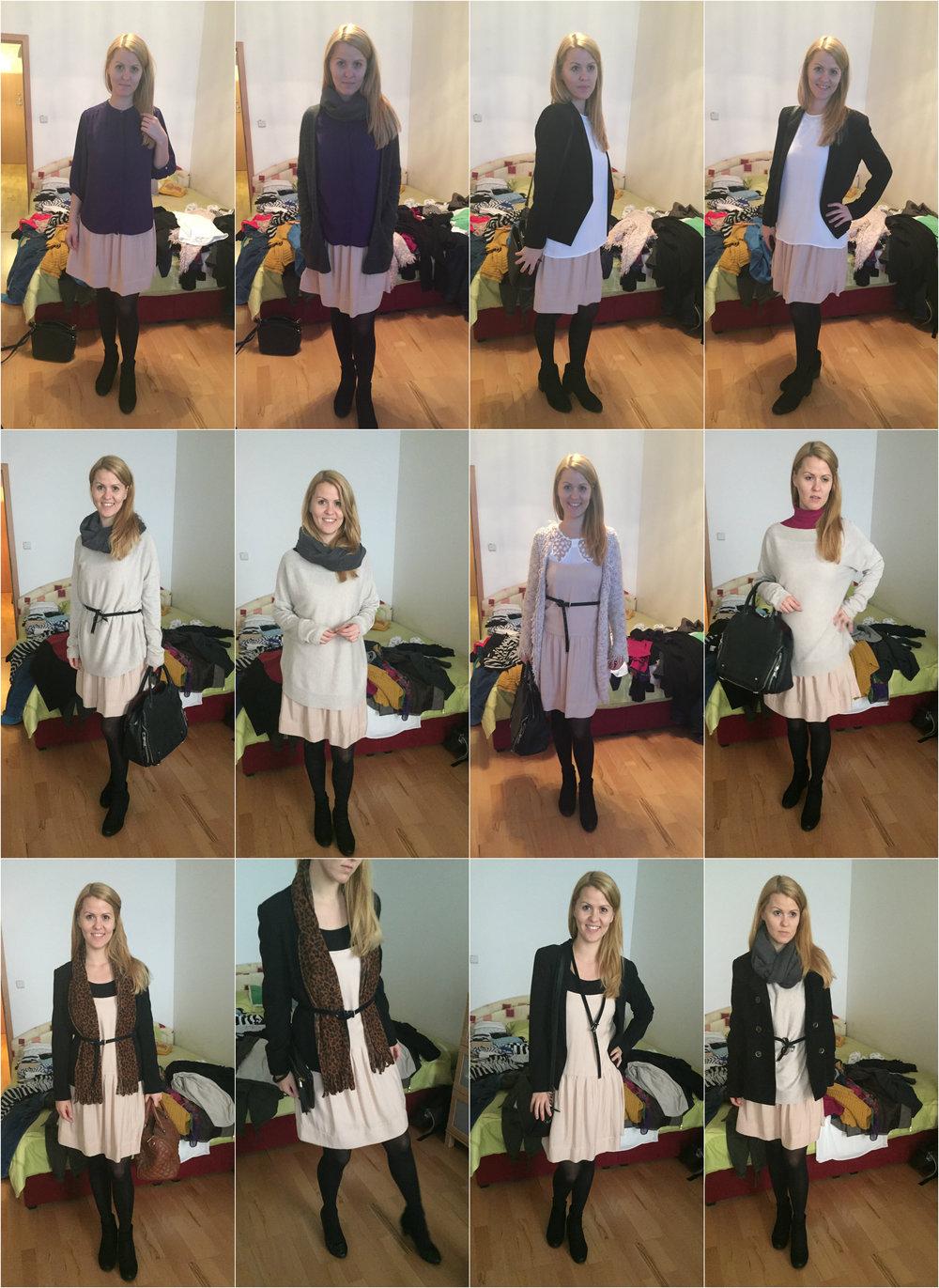 Jedny šaty - 12 variácií...