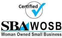 Certified Woman Owned Small Business (SBA WOSB)