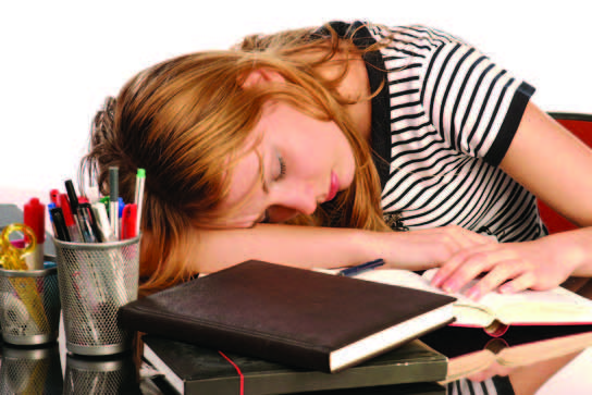 Children and teens need at least 9 hours of sleep every night.