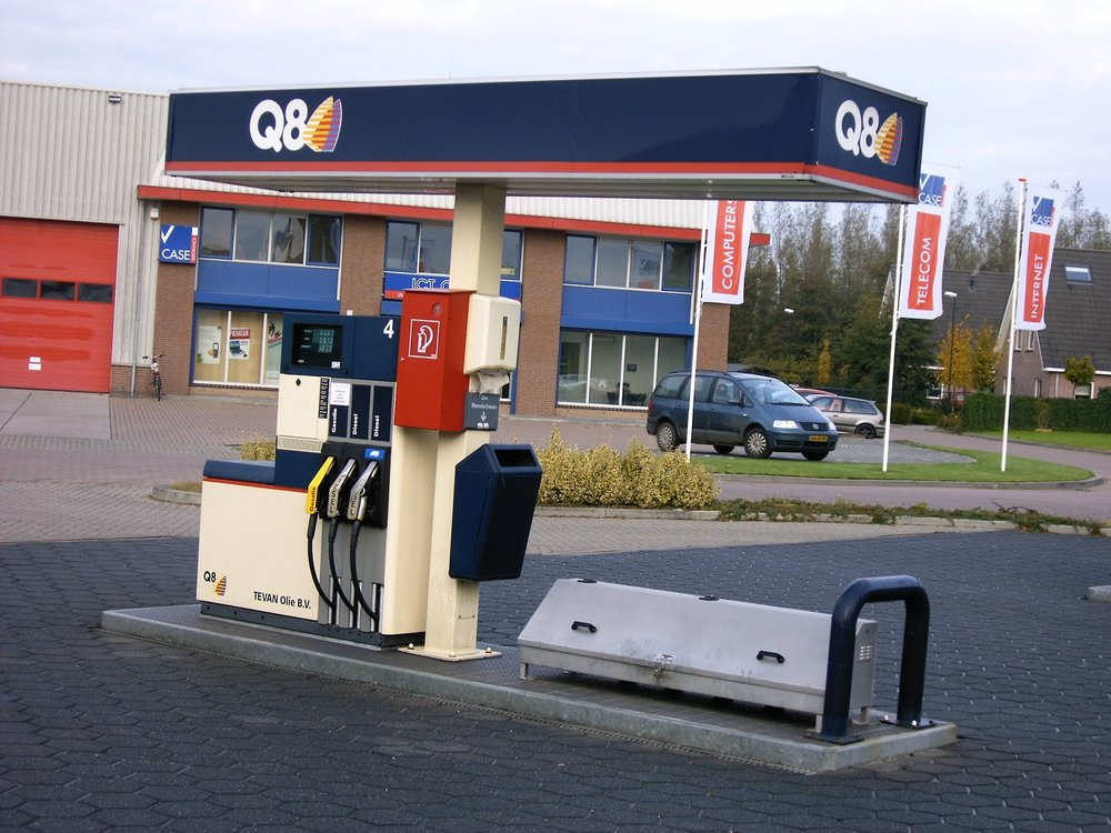 Tankstation in ARKEL