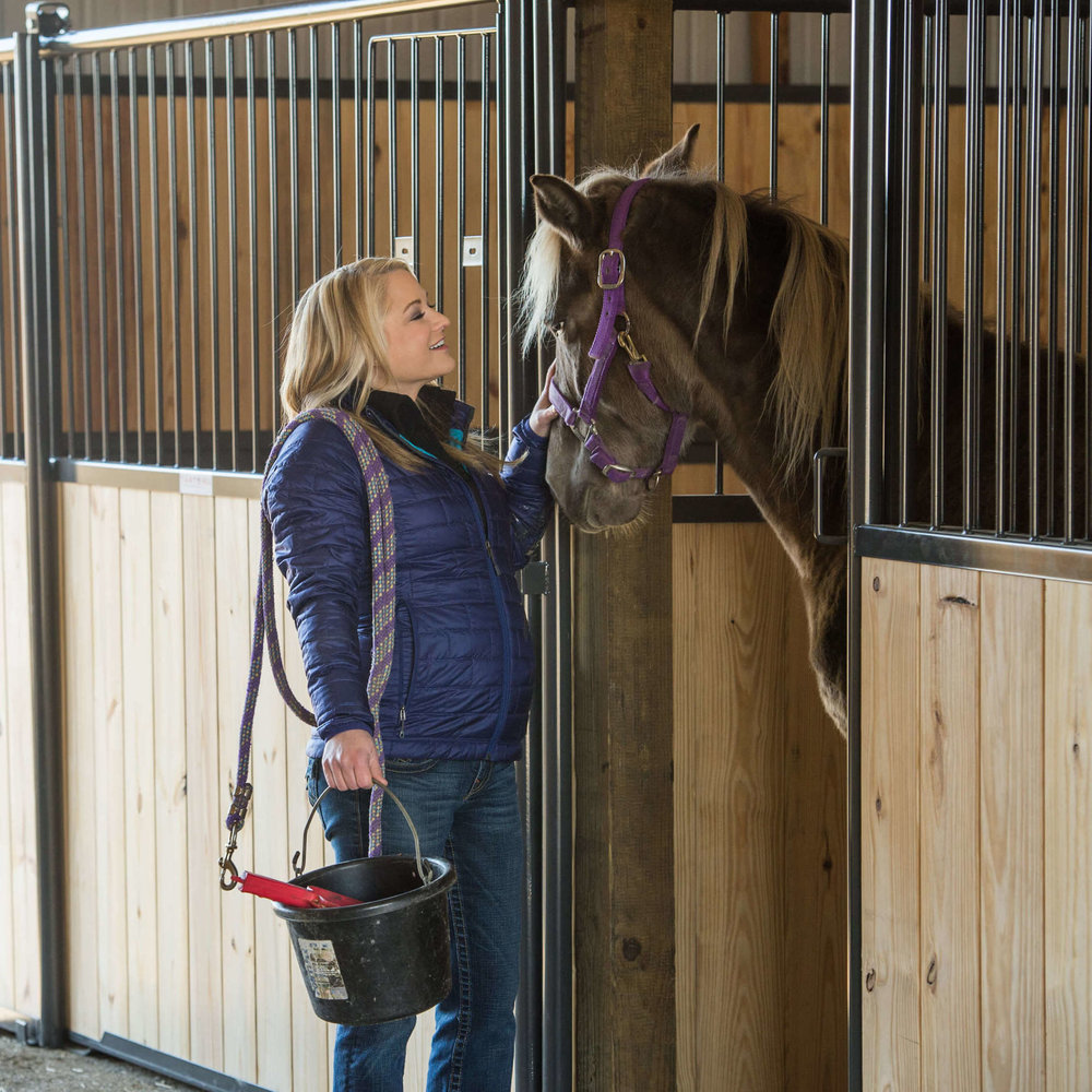 Horse Stalls -