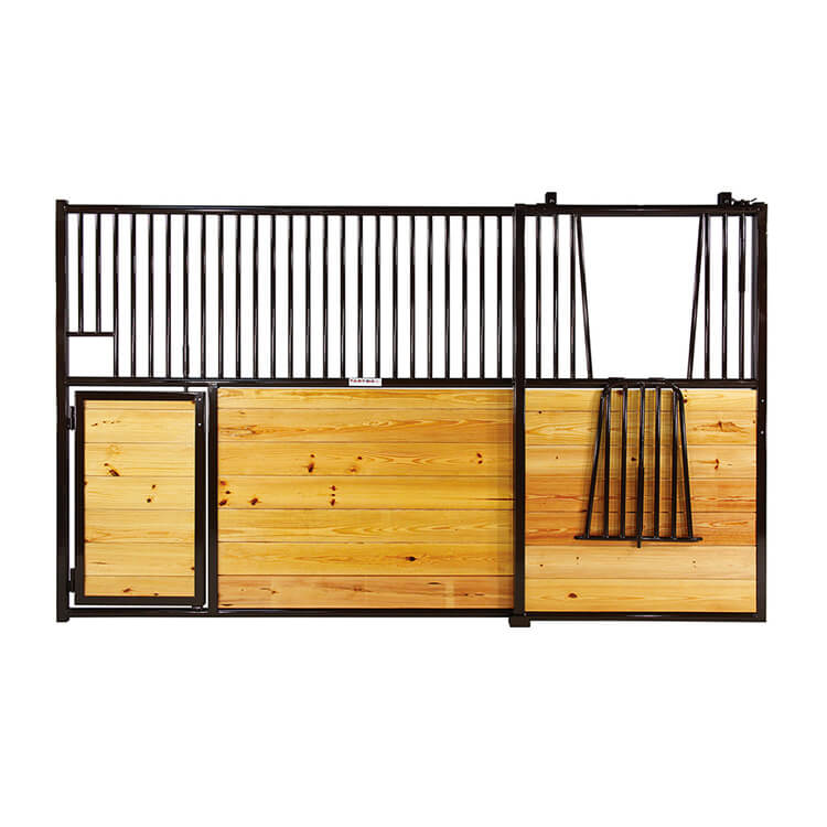 "Equine - ""ELITE"" HORIZONTAL HORSE STALL WITH LAZY SUSAN DOOR.jpg"