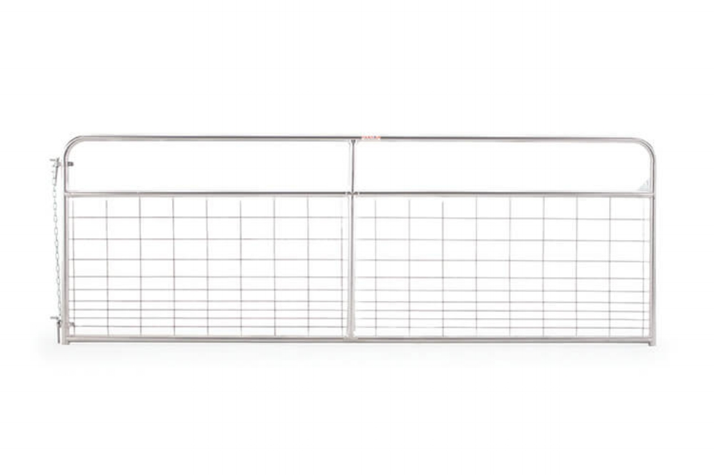 Galvanized Wire-Filled Tube Gate — Tarter Farm and Ranch Equipment ...