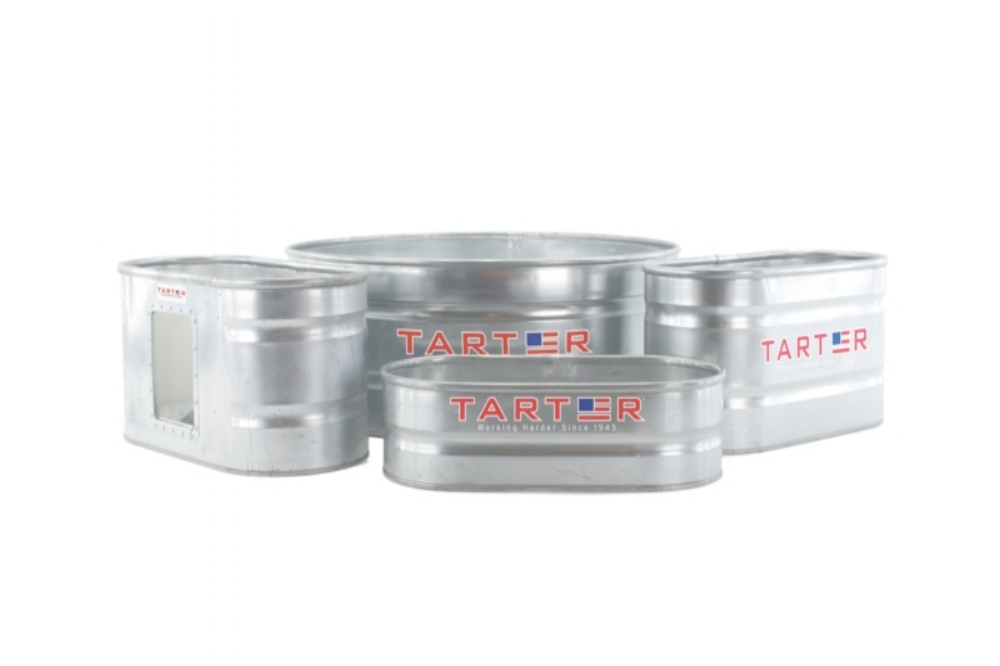 Galvanized Stock Tanks – Oval & Round — Tarter Farm and Ranch