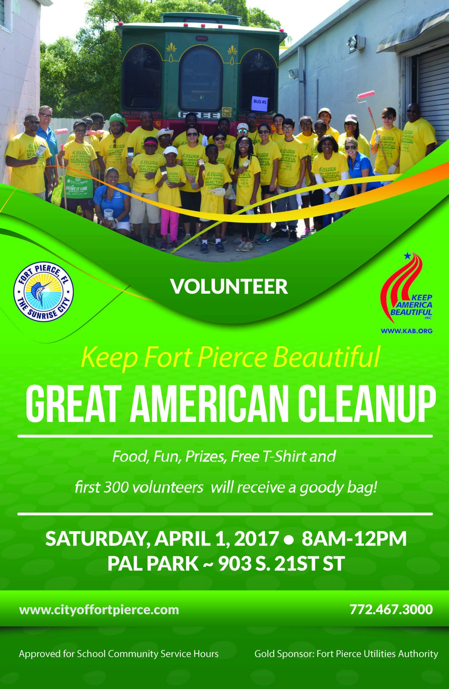 Great American Clean Up — Love Fort Pierce