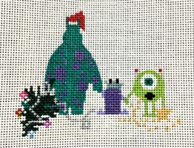 MONSTERS XMAS - MONTC1307 4 x 6 13 Mesh