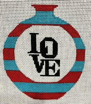 "BLUE LOVE - RBLOV1402 13 Mesh Shown;also available in 18 4"" Diameter"