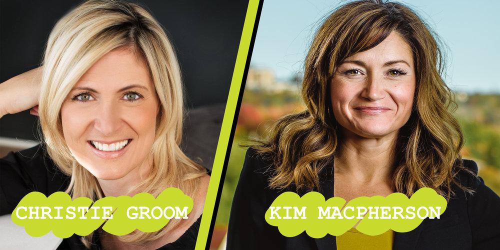 Christie Groom & Kim Macpherson